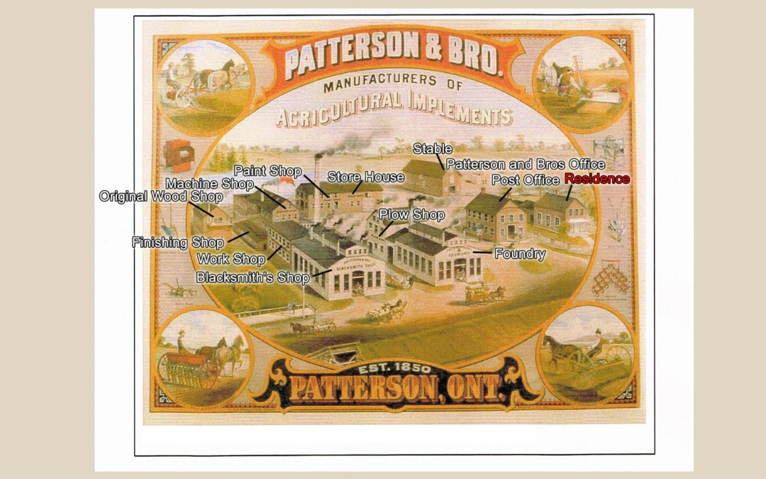 Our Lands Speak: Insights on the Patterson & Brothers' Factory for Manufacturing Agricultural Implements