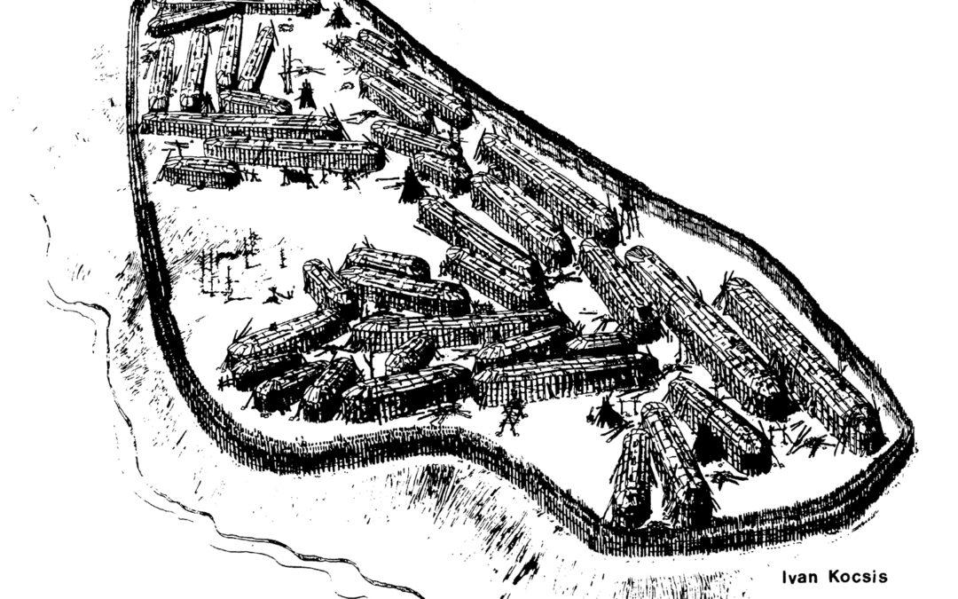 An Artist's Concept of the Draper Site